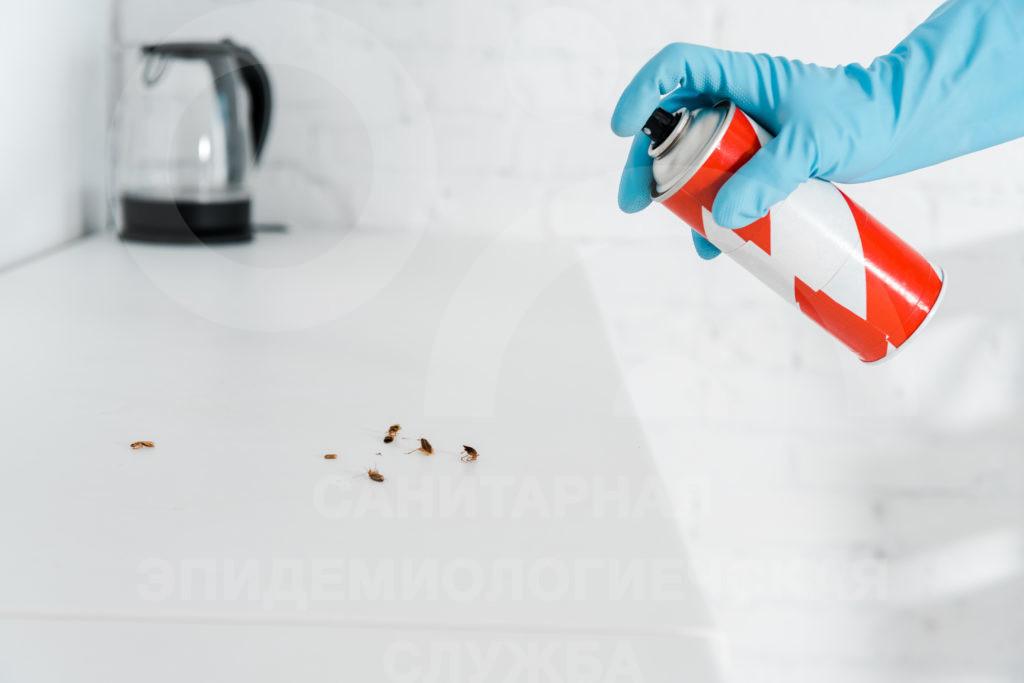 аэрозоль против тараканов
