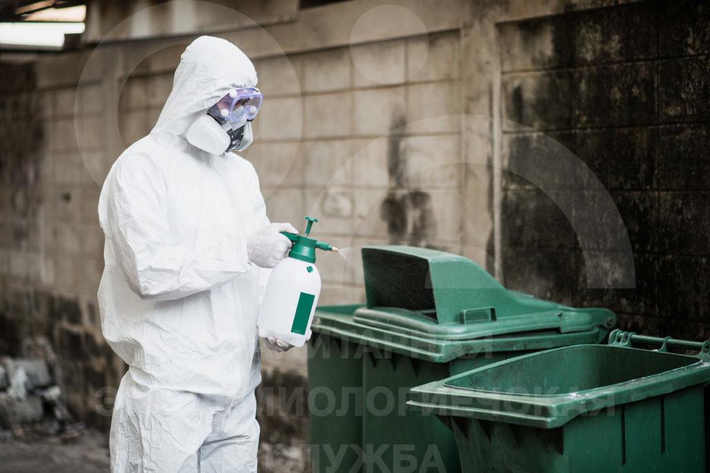 как проходит процесс чистки мусоросборника